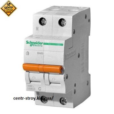 Schneider Выключатель автоматический ВА63 2П 40А