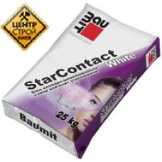 Baumit StarContactWhite Приклейка/армировка белого цвета