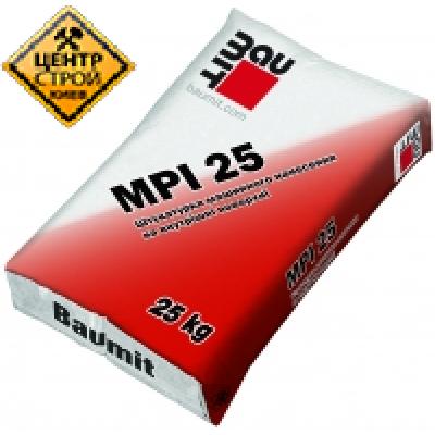 Baumit MPI 25 Штукатурка машинного нанесения цем-изв.