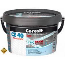 CERESIT СЕ-40 Затирка д/швов 2-5мм (в асс.) 2кг
