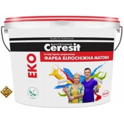 CERESIT EKO/14кг  Интерьерная акрил/ матовая краска