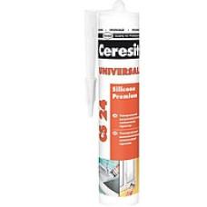 CERESIT CS-24  CSUWH2 Герметик силиконовый белый 280мл.