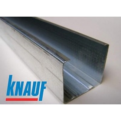 KNAUF профиль UW 75 4м (0,6 мм)
