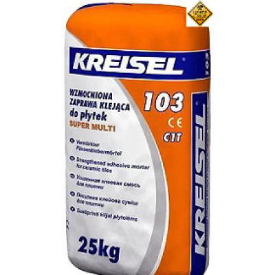 KREISEL 103 Super Multi Клей для плитки усиленный