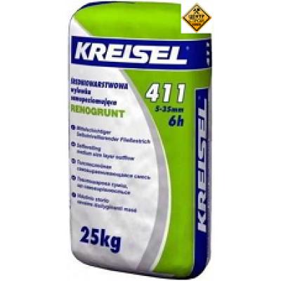 KREISEL 411 Самовыравнивающаяся смесь для пола