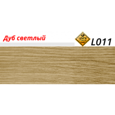 LinePlast Плинтус Дуб светлый LT011 2.5 м