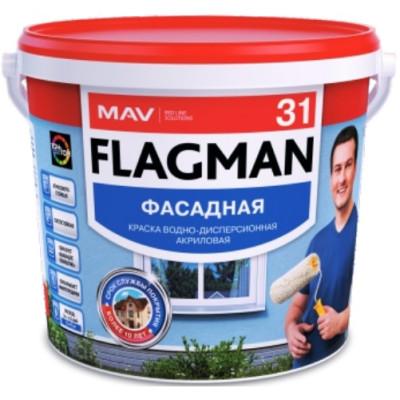 MAV FLAGMAN 31 КРАСКА ФАСАДНАЯ 5Л (7.0 КГ)