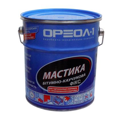 """Ореол  Мастика битумно-резиновая """"Фикс"""" (10кг)"""