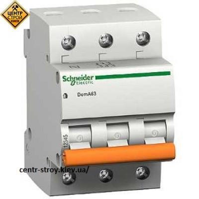 Schneider Выключатель автоматический ВА63 3П 25А