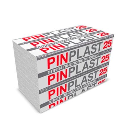 Пенопласт М-25 20мм 0.5*1 Столит Пинпласт