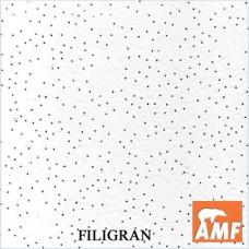 Плита потолочная Филигран (Filigran) 0.6*0.6 13мм.