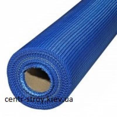 Сетка штукатурная 6*5мм (50м.кв А-160гр/м2) Masternet синяя