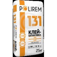 Полирем 131 Клей-шпаклевка для пенополистирольных плит, 25кг