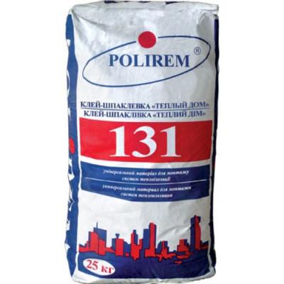 Polirem 131 универсальный клей для систем теплоизоляции 25 кг