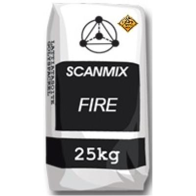 SCANMIX FIRE Термостойкий клей для каминов и печей