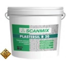 "SCANMIX PLASTERSIL R Дек.силикон.штукатурка""короед"""