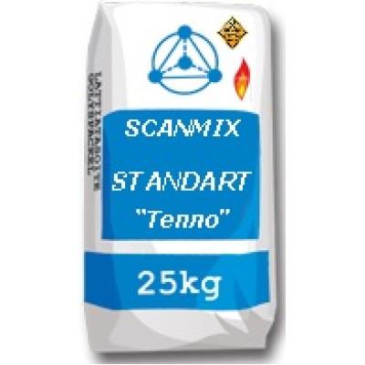 SCANMIX STANDART TEPLO Клей для каминов и печей