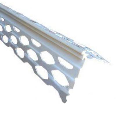 уголок для мокрой штукатурки пластиковый 3м