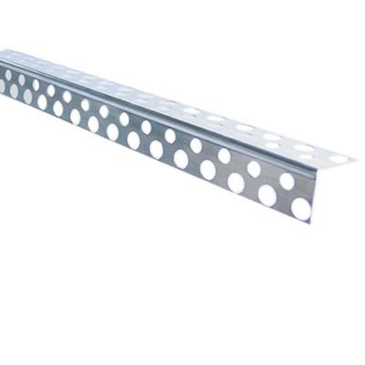 уголок перфорированный  алюминиевый 2.5м
